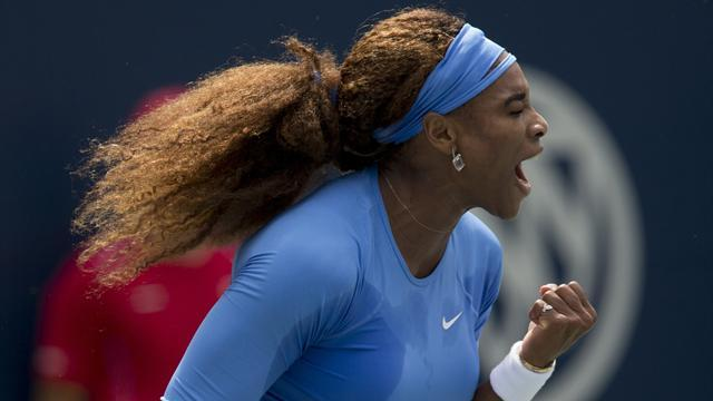 Tennis - Serena destroys Cirstea to win women's Rogers Cup