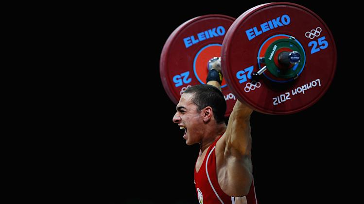 Olympics Day 2 - Weightlifting