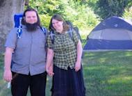 This undated handout photo provided by the Coleman family shows Caitlan Coleman and Joshua Boyle. The family of a then-pregnant American woman who went missing in Afghanistan in late 2012 with her Canadian husband received two videos last year in which the couple asked the U.S. government to help free them from their Taliban captors, The Associated Press has learned. The videos offer the first and only clue about what happened to Caitlan Coleman and Joshua Boyle after they lost touch with their family 20 months ago while traveling in a mountainous region near the capital, Kabul. U.S. law enforcement officials investigating the couple's disappearance consider the videos authentic but caution that they hold limited investigative value, since it's not clear when or where they were filmed. (AP Photo/Coleman Family)