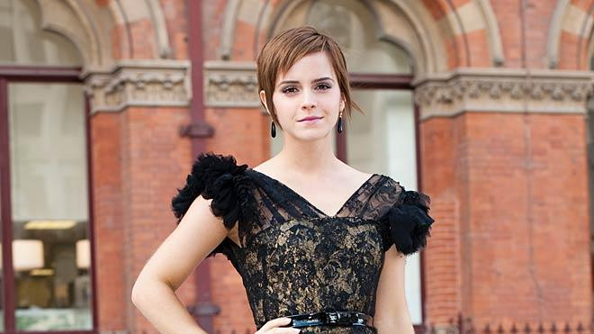 Emma Watson Harry Potter And The Deathly Hollows Premiere