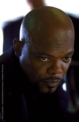 Samuel L. Jackson as John Shaft in Paramount's Shaft