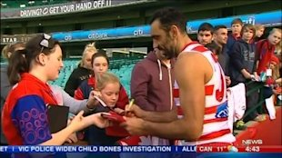 Saturday night will see Adam Goodes' return to football. Geelong coach Chris Scott is hoping for no booes.