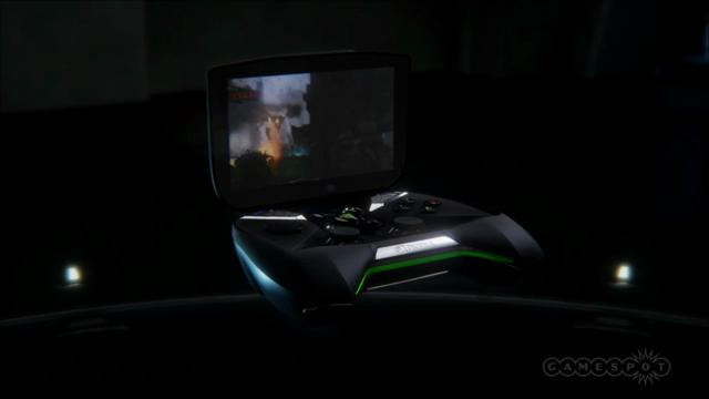 Nvidia unveils portable Android-powered console