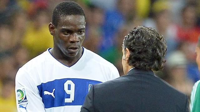 Confederations Cup - Prandelli sorry for Balotelli race comment