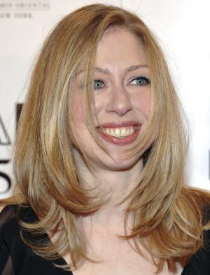 "In this Feb. 9, 2011 photo, Chelsea Clinton attends amfAR's annual New York Gala at Cipriani Wall Street in New York. Clinton is going to work for NBC News. The network said Monday, Nov. 14, 2011, that it has hired the 31-year-old Clinton to work on projects for the ""NBC Nightly News"" and Brian Williams' newsmagazine ""Rock Center."" She will do projects in the ""Making a Difference"" series, generally positive stories about individuals and companies. (AP Photo/Evan Agostini)"