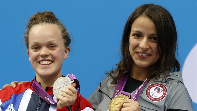 Simmonds happy with 100m free silver