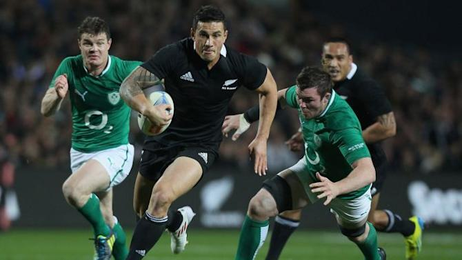 Sonny Bill Williams in full flight
