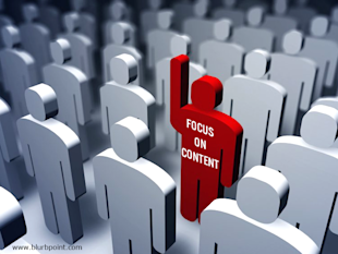 A Successful Content Creation Campaign, With a Content Editor image focus on content1