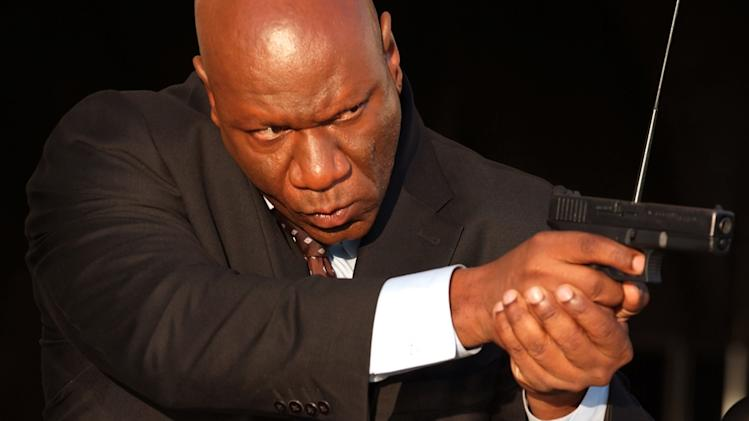 Ving Rhames Echelon Conspiracy Production Stills After Dark 2009