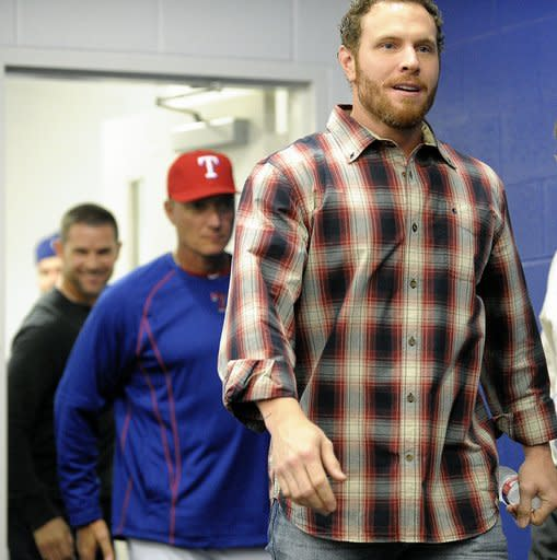 Hamilton back with Rangers, ready to get back on field