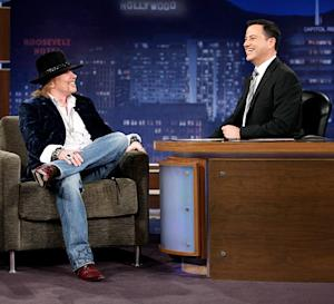 Axl Rose's Jimmy Kimmel Interview: Slash's Wife Perla Hudson Reacts!