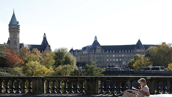 Travel Luxembourg cityscape