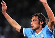 Lazio captain Stefano Mauri during a Serie A football match in Rome on April 7. Mauri and several other top players were arrested on Monday as part of a probe into illegal betting