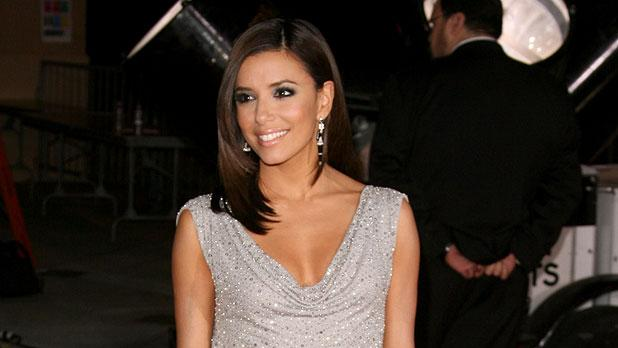 Eva Longoria at The 33rd Annual People's Choice Awards.