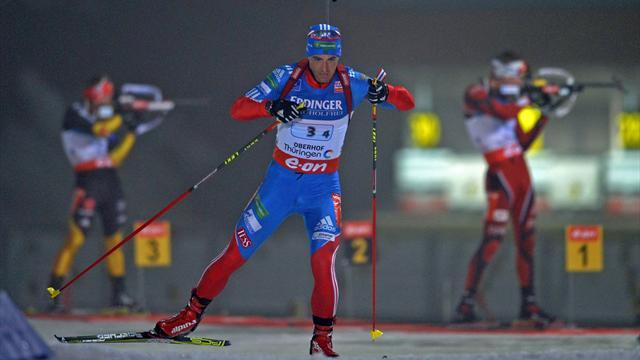 Biathlon - Malyshko takes first career win in Oberhof