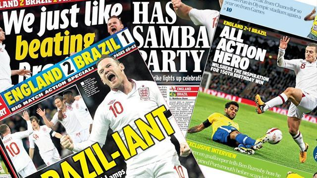 World Football - Paper Round: Wilshere's world beaters