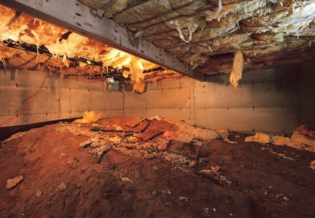 Convert Your Crawl Space Into A Storage Area Yahoo Homes