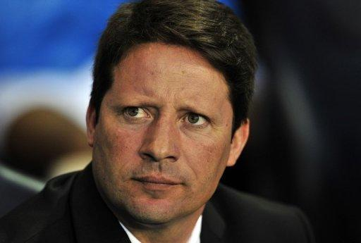 Heart of Midlothian's manager Paulo Sergio