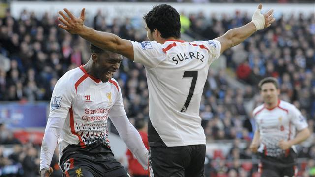 Premier League - Suarez hits hat-trick as Liverpool roar past Cardiff