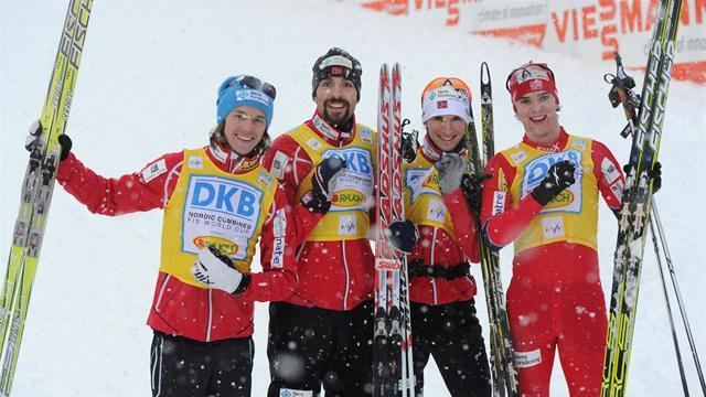 Nordic Combined - Contenders applaud tough course