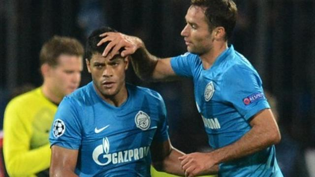 Champions League - Kerzhakov penalty seals fortunate win for Zenit