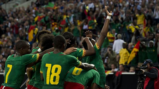 International friendlies - Cameroon complete preparations with home win over Moldova