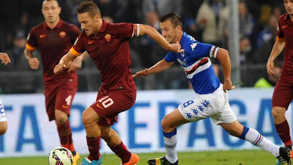 Video: Sampdoria vs AS Roma