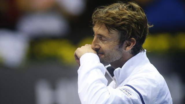 Tennis - Ferrero says farewell, injuries for Tsonga and Tipsarevic