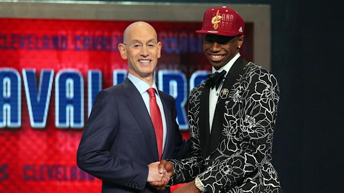 Basketball - Canada's Wiggins is top pick of NBA Draft by Cavs