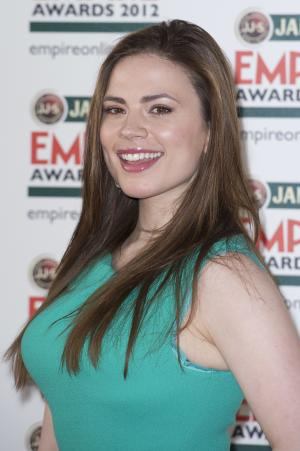 "FILE - In this March 25, 2012 photo, Hayley Atwell arrives for the Jameson Empire Awards in London. Atwell will star in the film ""10 Things I Hate About Life,"" to be written and directed by Gil Junger. Junger directed the 1999 film ""10 Things I Hate About You,"" which starred Heath Ledger. (AP Photo/Jonathan Short, File)"