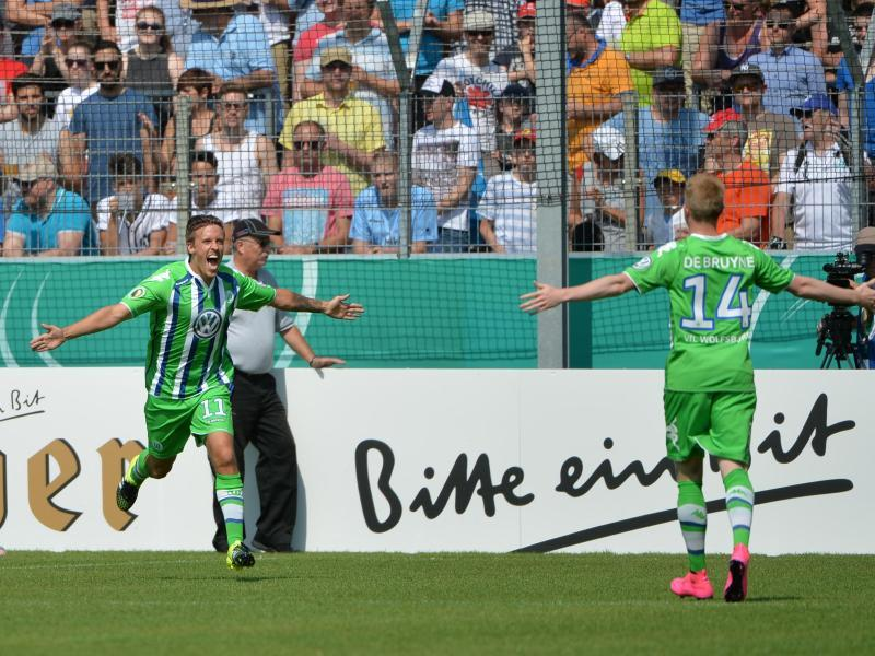 Video: Stuttgarter Kickers vs Wolfsburg