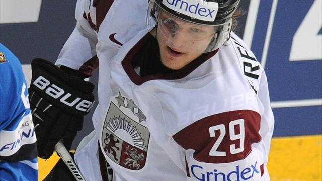 Ice Hockey - Latvian hockey player caught doping in Sochi