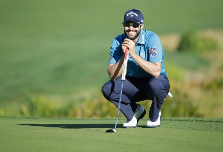 Adam Hadwin is the latest player to join the sub-60 club. (Getty Images)