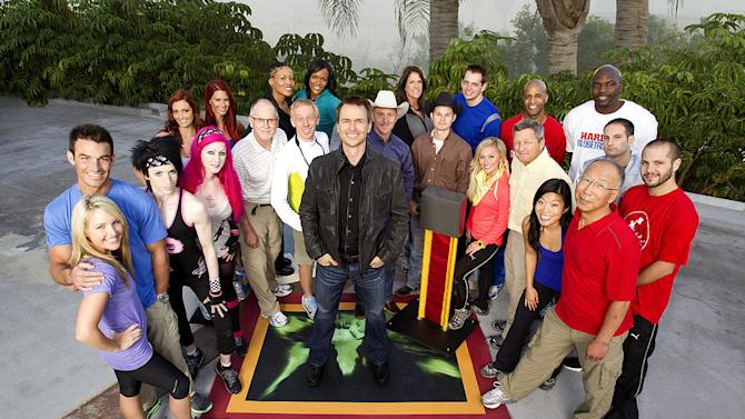 """Eleven former teams who fell short of winning $1 million during their inaugural race around the globe return for another adventure in """"The Amazing Race: Unfinished Business."""""""