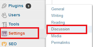 WordPress Discussion Settings Step by Step Tutorial image discussion settings