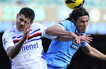 Serie A Round 25 Results: Napoli blow chance to close in on Juventus, Sau at the double for Cagliari