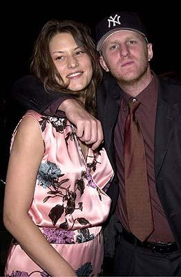 Premiere: Michael Rapaport and his wife Nicole at the Hollywood premiere of Paramount's Lucky Numbers - 10/24/2000