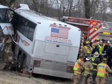 Pregnant Coach, Driver Killed in Pa. Bus Crash