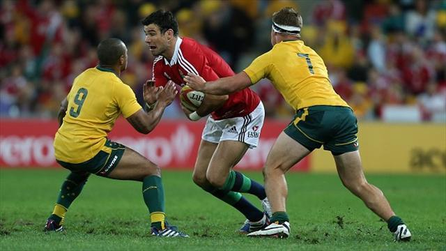 Lions Tour - Phillips hopes to be involved in decider