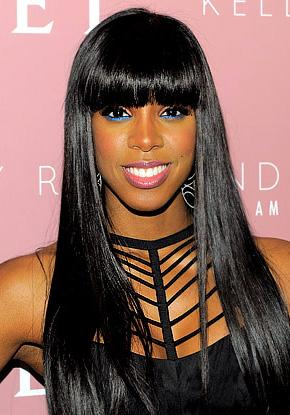 Would You Rock Bright Blue Eyeliner Like Kelly Rowland?