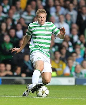 James Forrest has not played since a 2-0 defeat by Kilmarnock on October 27