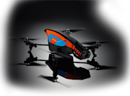 Parrot AR.Drone 2.0 Review image blue 300x221
