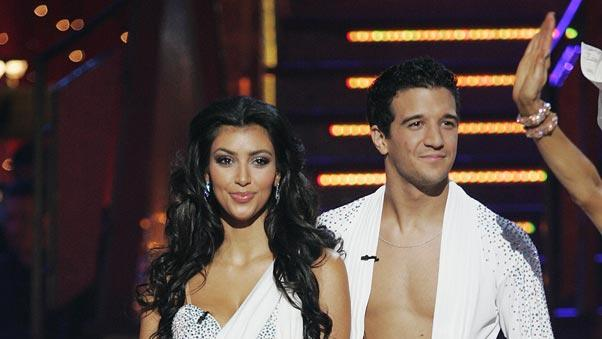 Kim Kardashian and Mark Ballas are the third couple to be eliminated on the seventh season of Dancing with the Stars.