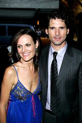 Eric Bana and wife Rebecca Gleeson at the New York premiere of Warner Brothers' Troy
