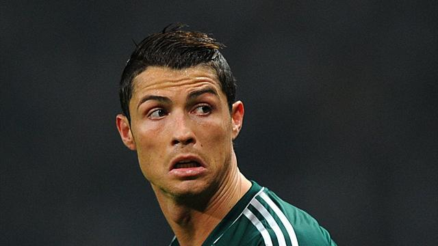 Football - Ronaldo emotional after Old Trafford win