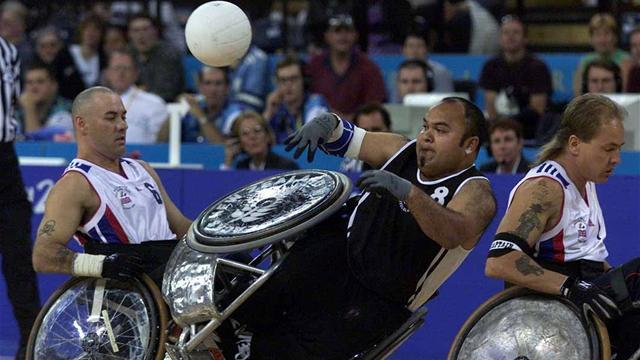 Biff, bang, wallop: Wheelchair rugby is big hit