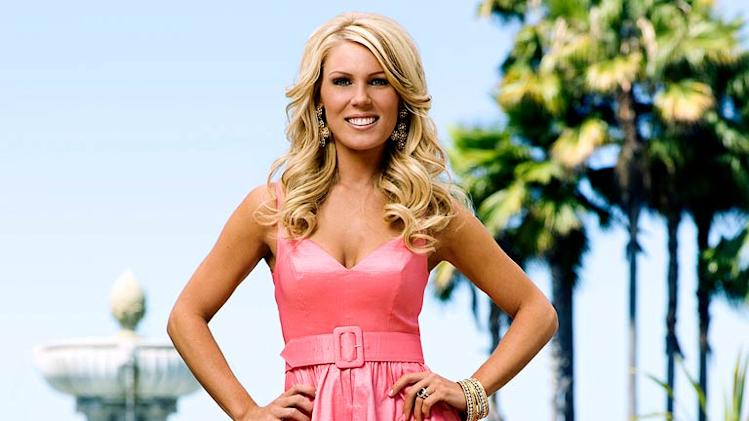 "Gretchen Rossi of ""The Real Housewives of Orange County."""
