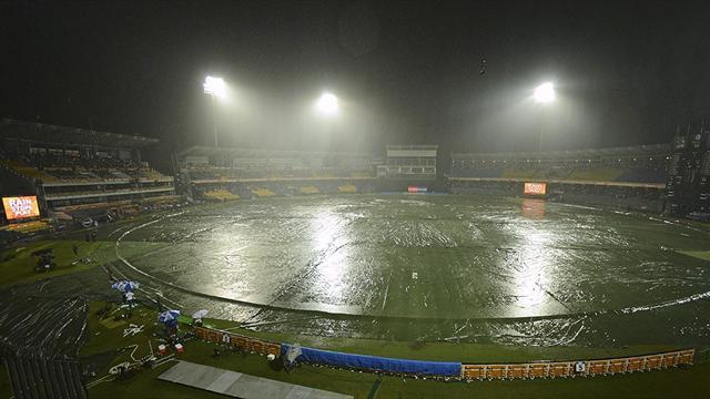 Cricket - West Indies progress, Ireland out after washout