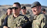 James Bond Star Daniel Craig In Afghanistan