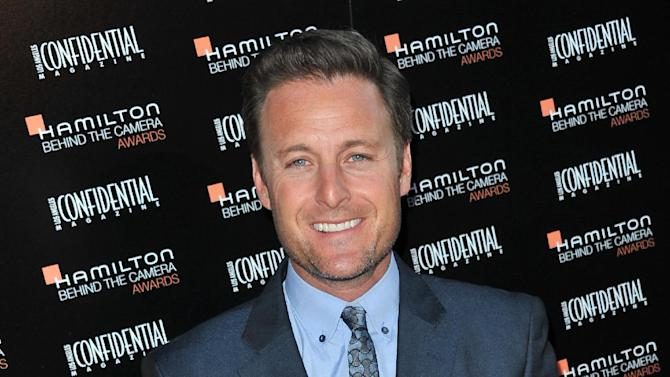 """FILE - This Oct. 28, 2012 file photo shows Chris Harrison at the Hamilton """"Behind the Camera"""" Awards at the House of Blues West Hollywood, Calif. Harrison, host of """"The Bachelor"""" and """"The Bachelorette"""" romance reality series, says while the male contestants on the series tend to bond, the women tend to bicker, conspire and backstab against one another. Harrison has come to learn that people end up showing their true colors when they go on reality TV. (Photo by Richard Shotwell/Invision/AP, file)"""
